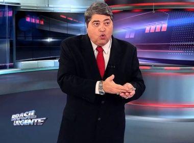 Datena é condenado a indenizar político por danos morais e responde a 42 processos