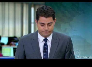 Evaristo anuncia que deixa 'Jornal Hoje' a partir desta sexta e explica saída da Globo