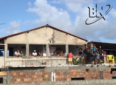 Vizinhos do Parque de Exposições preparam churrasco na laje para curtir Salvador Fest