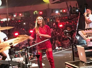 Sol Almeida estreia no Salvador Fest após carreira solo: 'Responsabilidade gigante'