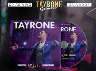 Novo CD de Tayrone alcança marca de 200 mil downloads em 4 dias