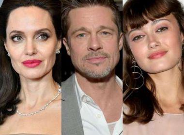 Pitt mantém romance com atriz que interpretou personagem de Jolie na infância, diz jornal