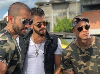 'Sarrando': Rafa e Pipo Marques gravam sua aposta para o verão com Léo Santana