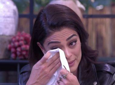 Juliana Paes chorou ao não levar prêmio do Melhores do Ano: 'Doeu mesmo'