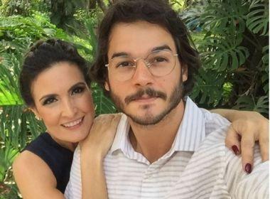 Namorado de Fátima Bernardes diz que não sente preconceito por diferença de idade
