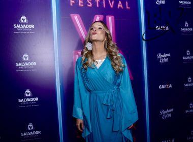 No Festival da Virada, Claudia volta a falar de carreira internacional: 'Sinto que consegui'