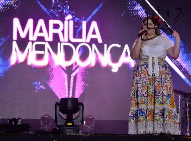 Marília se emociona em SSA: 'Maior público da história'