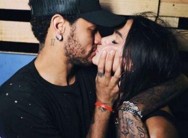 Neymar se declara após reatar namoro com Bruna: 'Quando vi, já estava nos teus braços'