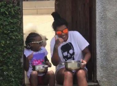 Ludmilla posta vídeo ensinando truque para não ser assaltada; veja