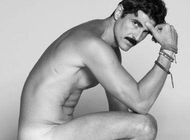 Gianecchini posa nu para projeto fotográfico: 'Por baixo da roupa somos todos pele'