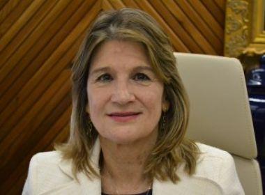 Vânia Chaves - Presidente do TRT-BA