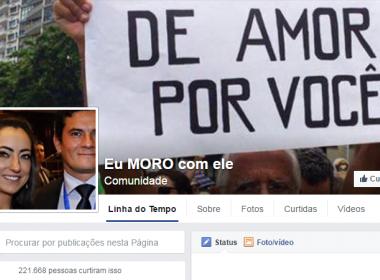 JUIZ MORO É HOMENAGEADO PELA ESPOSA