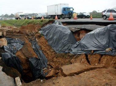 Justiça Federal condena Viabahia a pagar indenização por cratera na BR324