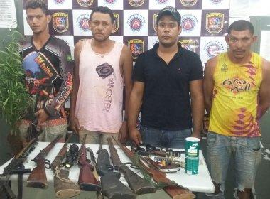 Oeste: Polícia prende quatro em fazenda grilada que tinha plantação de maconha