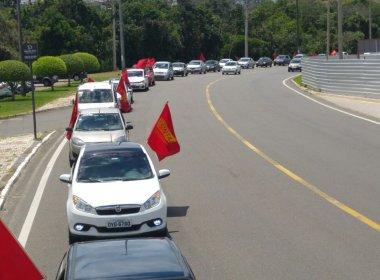Servidores do TJ-BA realizam carreata em protesto por não reposição inflacionária