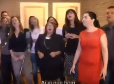 Magistrados e Servidores de TJ gravam versão inusitada de 'We Are the World'
