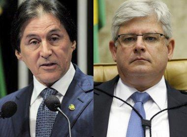 Janot se declara suspeito para investigar senador Eunício Oliveira, citado na Lava Jato