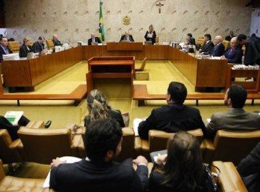 Maioria do STF que decide réus não podem presidir Legislativo; votação foi adiada