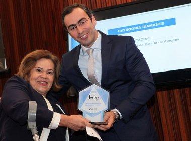 TRT-BA recebe Selo Diamante do CNJ por excelência de gestão