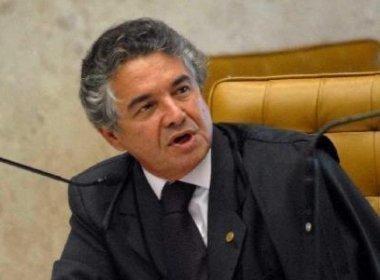 Tramitação de impeachment de Temer cabe à presidente do STF, diz Marco Aurélio