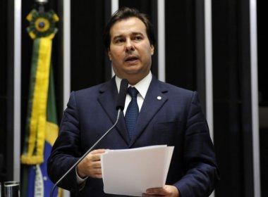 Solidariedade tenta barrar no STF reeleição de Rodrigo Maia na Câmara