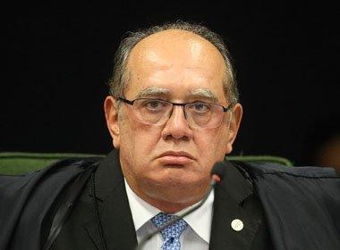 Gilmar Mendes pede vista em julgamento do STF sobre réus na linha sucessória