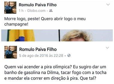 Procurador pede morte de Marisa nas redes sociais e incita ódio à Dilma