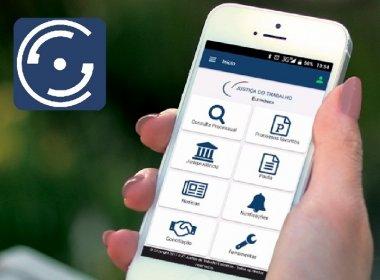 Aplicativo do TRT-BA permite partes a consultarem ações pelo celular