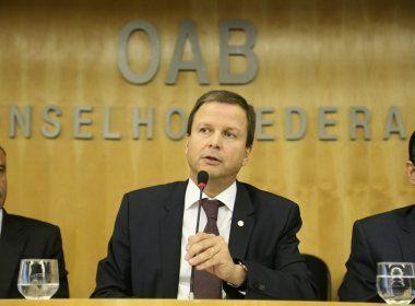OAB critica fala de Meirelles sobre IR e diz que quem faz esforço para fechar mês tem pressa