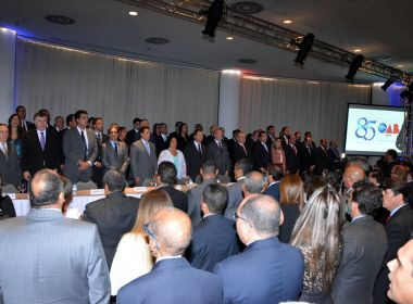 Aniversário da OAB-BA é marcado por cobrança de melhorias para Justiça e advogados