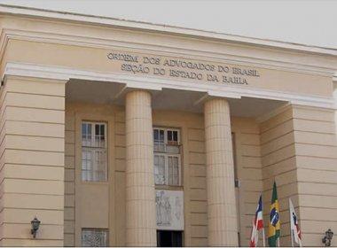 OAB-BA convoca sessão extraordinária para discutir impeachment de Temer