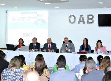 Por unanimidade, conselheiros da OAB-BA aprovam proposta de impeachment de Temer