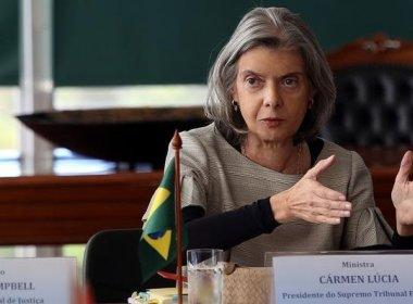 Cármen Lúcia critica dados errados apresentados por tribunais ao CNJ