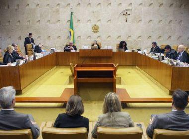 STF inicia julgamento sobre contratação de escritórios de advocacia sem licitação
