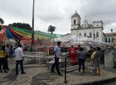 MPT-BA investiga desabamento de palco no Pelourinho e responsáveis por acidente
