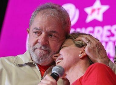 Lula ironiza ação contra Gleisi: 'Numa outra encarnação, nós vamos indicar só gente do MP'