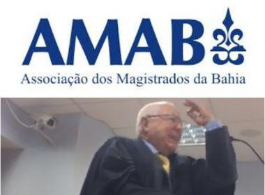 AMAB emite nota de repúdio após advogado dizer que TJ-BA não tem '10% de juiz honesto'