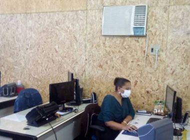 Servidores do fórum de Juazeiro trabalham em meio a poeira e barulho, diz sindicato