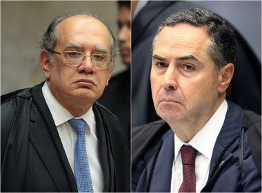 Barroso acusa Gilmar de 'não trabalhar com verdade' e de leniência com colarinho branco
