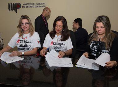 MP, MPT, Estado e Município firmam acordo para garantir direitos de crianças no Carnaval
