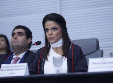 Patrícia Kertzman é eleita juíza eleitoral para TRE-BA com 46 votos