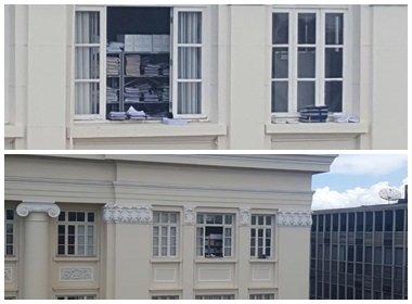Processos em janela do Fórum Ruy Barbosa chamam atenção de advogados