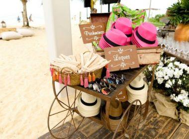 Opções de lembranças de casamento para amenizar o calor e levar charme à festa