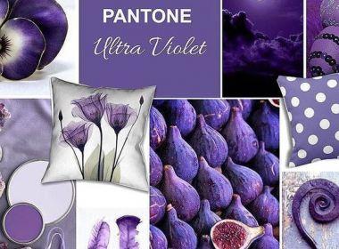 Ultra Violet: a cor do momento na decoração