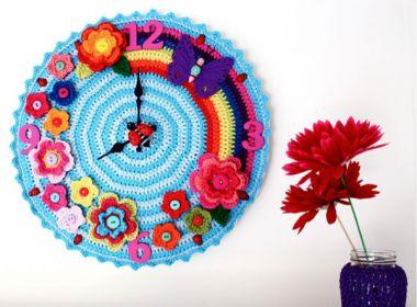 O uso do crochê na decoração