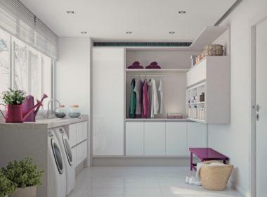 Dicas ajudam a transformar lavanderias de forma criativa e funcional