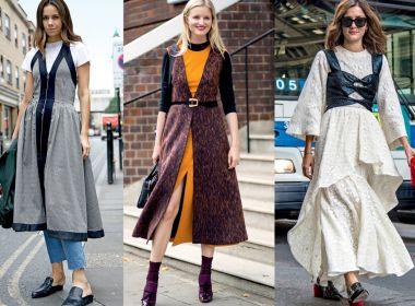 Cinco truques de sobreposição para usar com vestidos