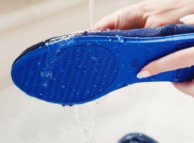 Marca produz sapatilhas laváveis com material reciclável