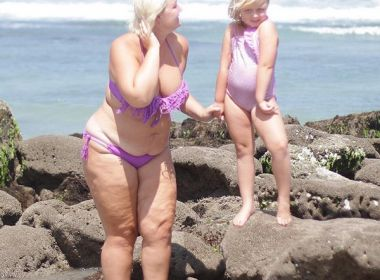 Mãe é chamada de gorda por sua filha e dá lição sobre imagem corporal no Instagram