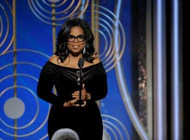 Oprah Winfrey faz discurso sobre força das mulheres, assédio sexual e racismo